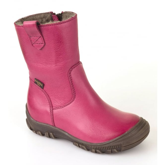 Froddo G3160074-7 Fuchsia Infant Leather Boot