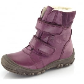 Junior Ankle Boot G3110057-4 Pink, waterproof velcro ankle boot