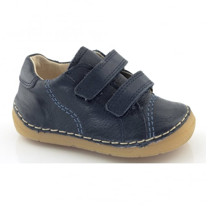 Froddo Mini Velcro G2130055 Dark Blue, Soft Leather Toddler shoe
