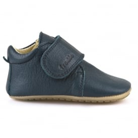 Pre Walkers G1130005-2 Dark Blue, delicate little shoes with flexible soles & soft leather