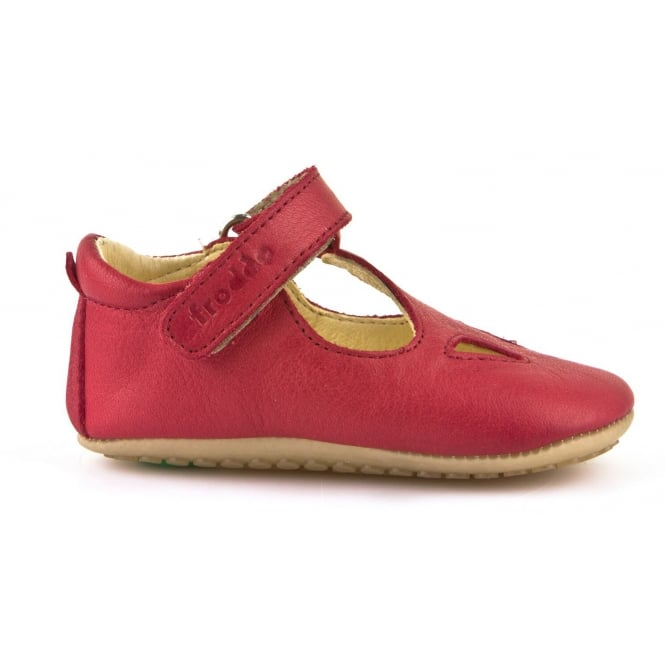 Froddo Pre Walkers G1130006-6 Red, Soft leather