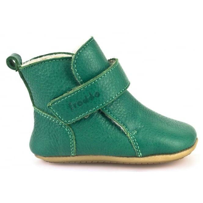 Froddo Pre Walkers G1160001-7 Green, Soft Leather