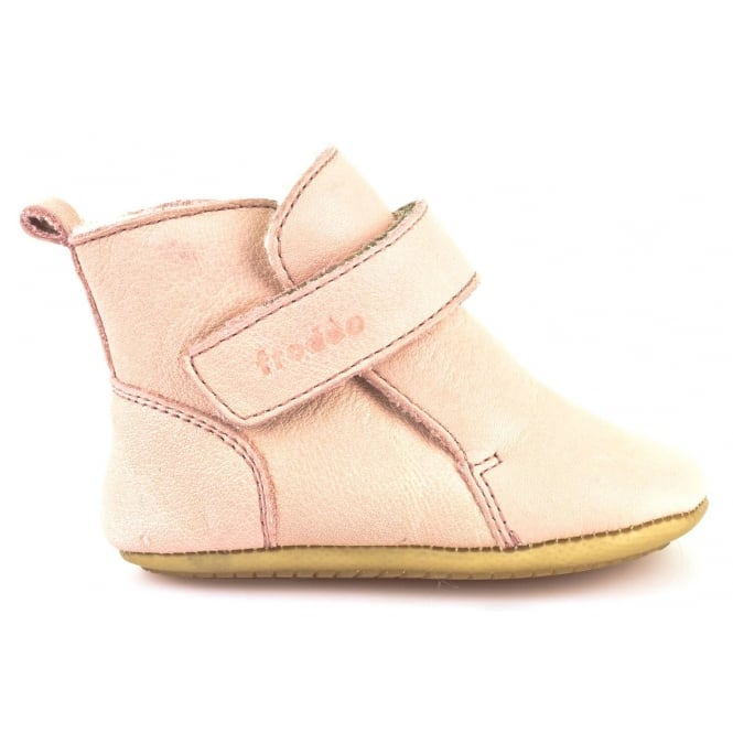 Froddo Pre Walkers G1160001-8 Pale Pink, Soft Leather