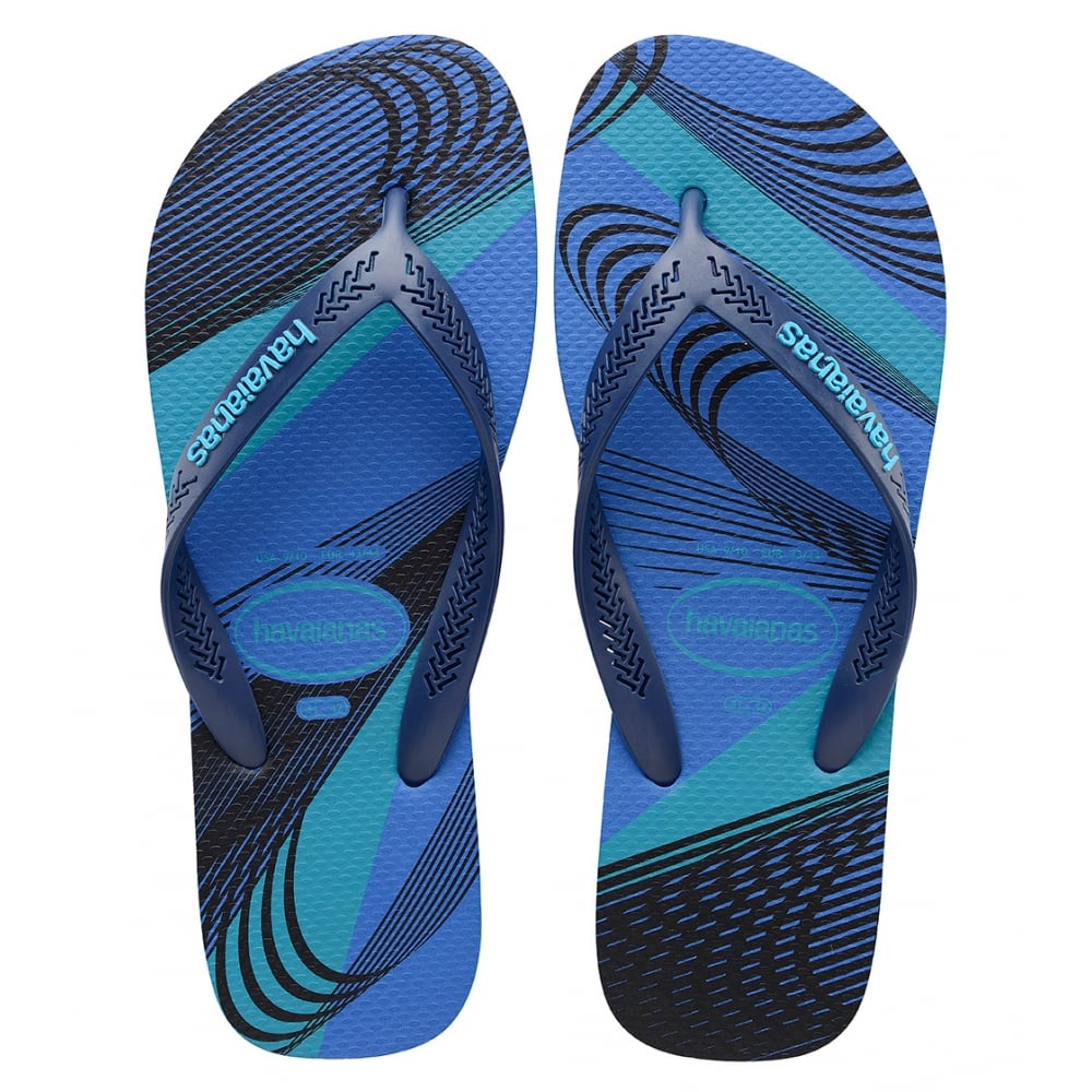 7b0173eaaa04d ... Men s Black Grey Flip Flops new cheap 7d647 dd6f0  Havaianas Aero  Graphic Blue Star Navy