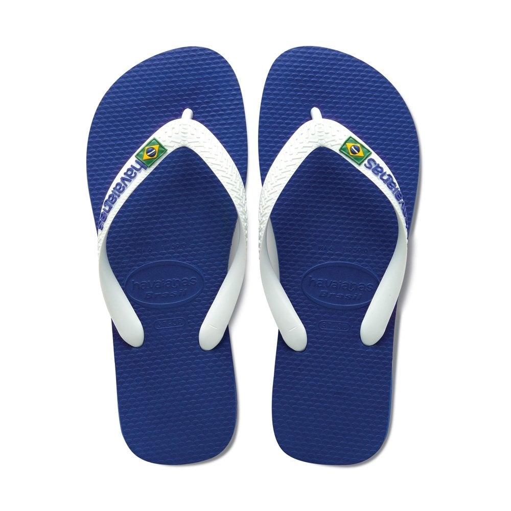 havaianas brasil logo marine blue the original flip flop men from jelly egg uk. Black Bedroom Furniture Sets. Home Design Ideas