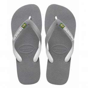 Brasil Logo Mix Steel Grey/White