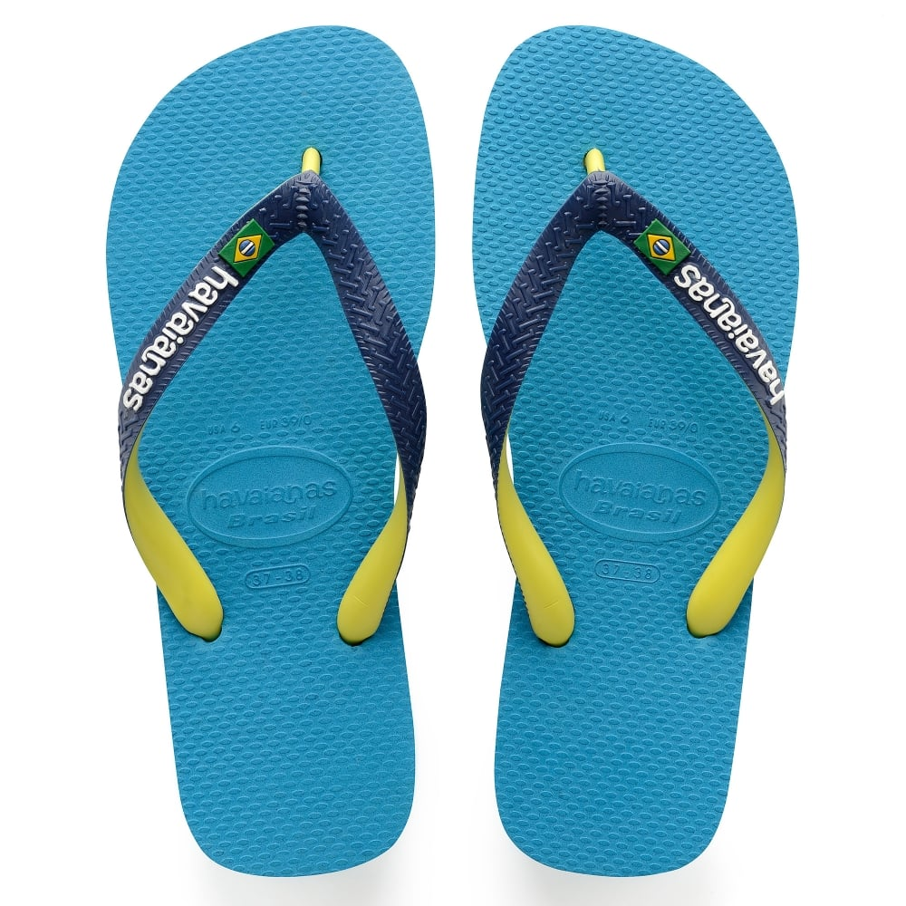 0ccfbf2c8 Havaianas Brasil Mix Turquoise - Men from Jellyegg UK