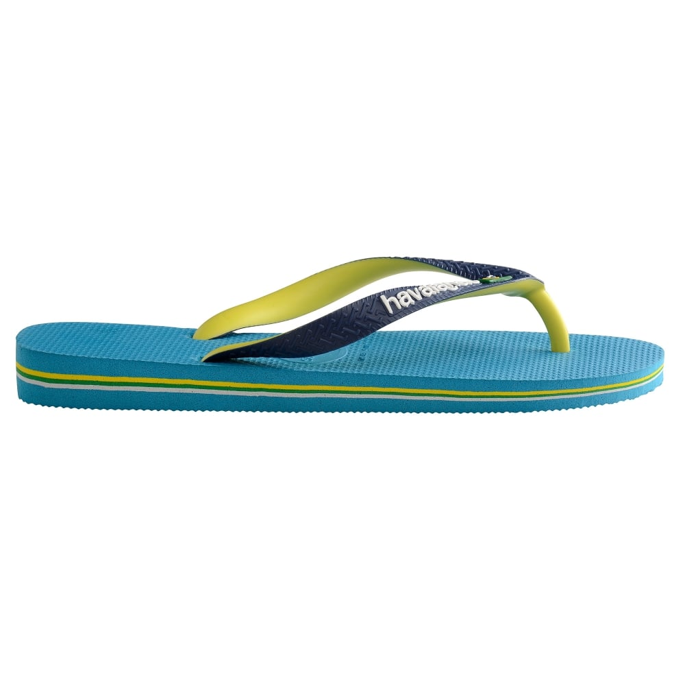 8a8aae0518533 Havaianas Brasil Mix Turquoise - Men from Jellyegg UK