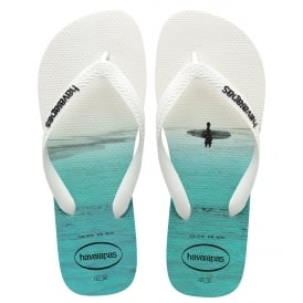 Havaianas Hype White/White, the original flip