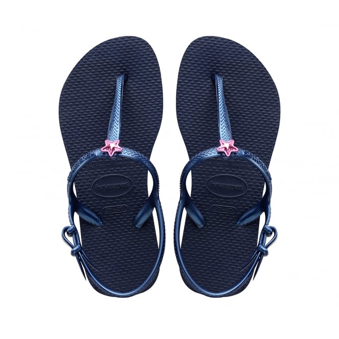 Havaianas Kids Freedom Navy Blue, the original flip flop (but smaller!)