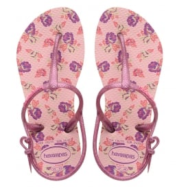 Havaianas Kids Freedom Print Pearl Pink, the original flip flop (but smaller!)