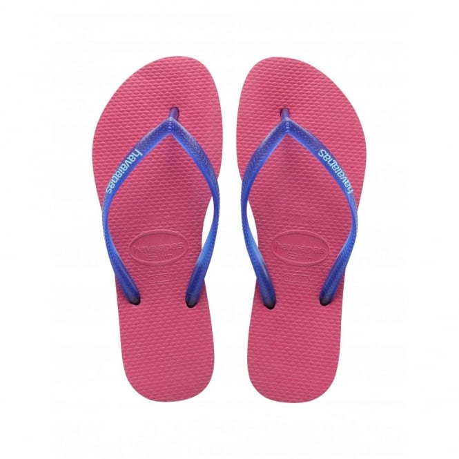 Havaianas Slim Logo Slim Orchid/Rose, Womens fit