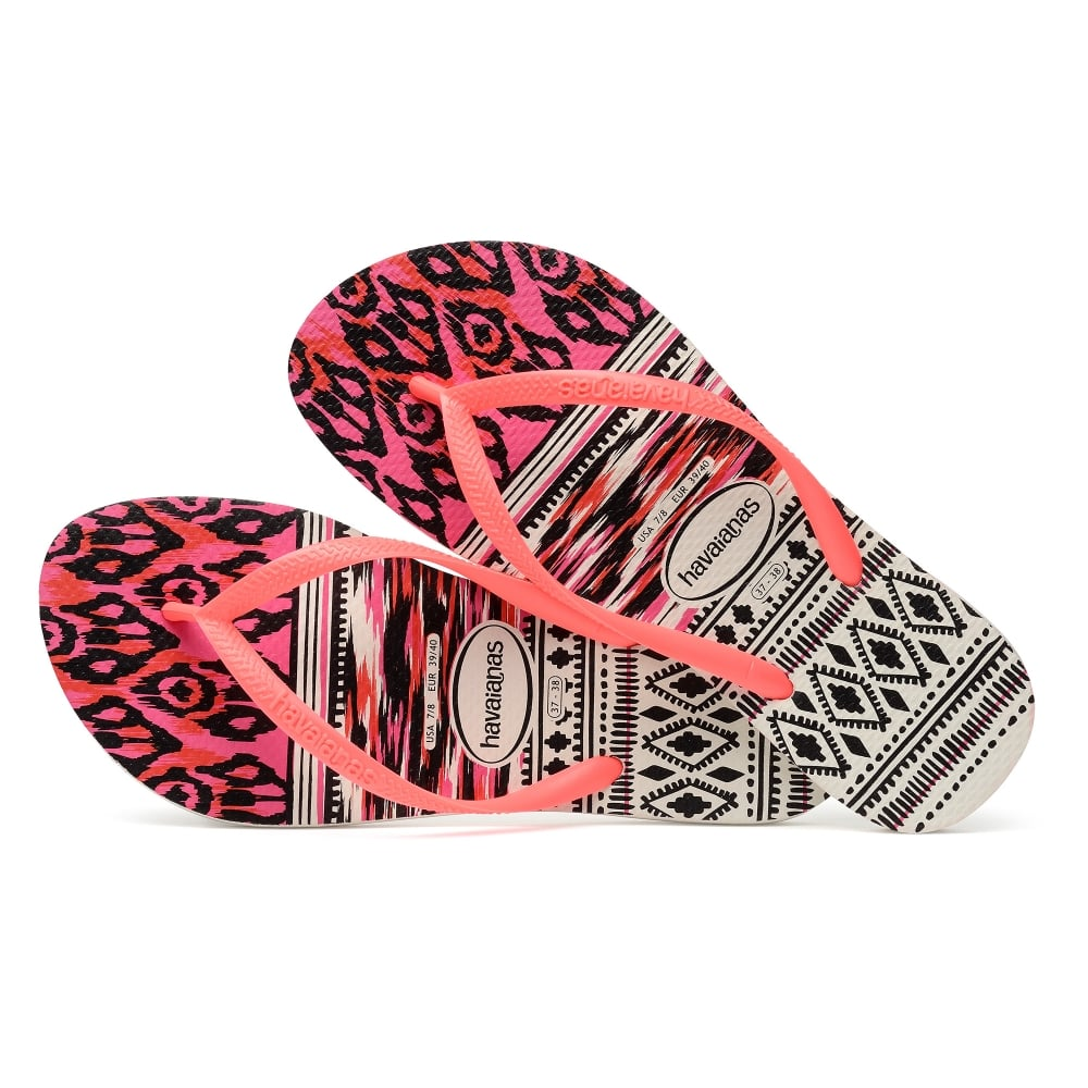 cfd5db4b827bef Havaianas Slim Tribal White Coral - Women from Jellyegg UK