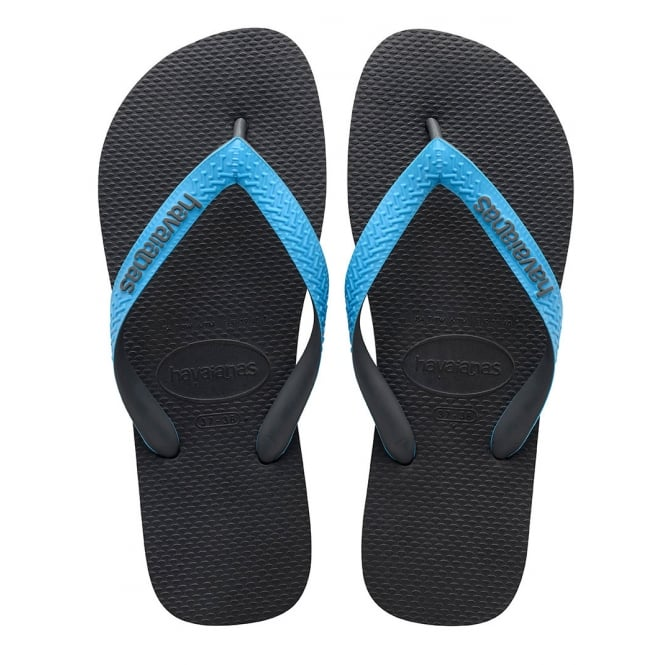 Havaianas Top Mix Grey/Turquoise, Two Tone Straps