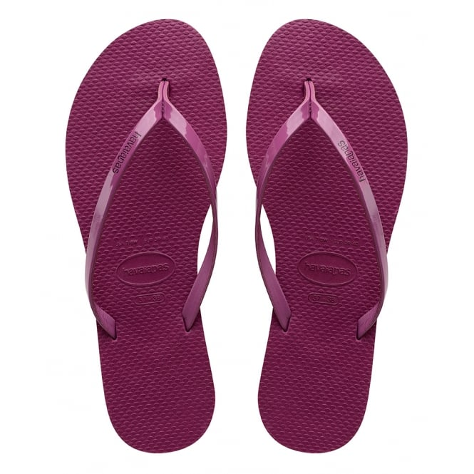 Havaianas You Metallic Acal, thin and elegant flip flop for women