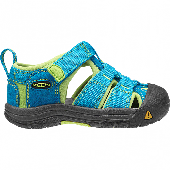 KEEN Infant Newport H2 Hawaiian Blue/Green Glow, ideal for in and out of the water