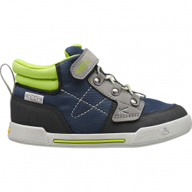 Kids Encanto Wesley High Top Dress Blues/Macaw, comfortable sneaker with flexible rubber sole