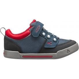 Kids Encanto Wesley Low Midnight Navy/Formula One, Sporty Sneaker Style