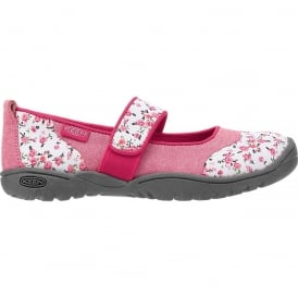Kids Harvest MJ Barberry Flower, Mary Jane style flat ideal for all day comfort