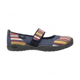 Kids Harvest MJ Midnight Navy, Mary Jane style flat ideal for all day comfort