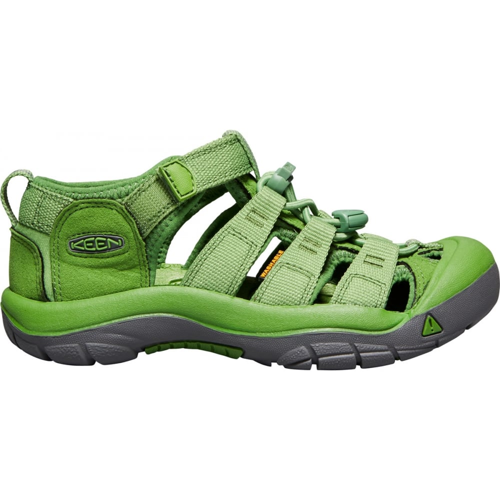 Kids Newport H2 Fluorite Green, ideal for in and out of the water