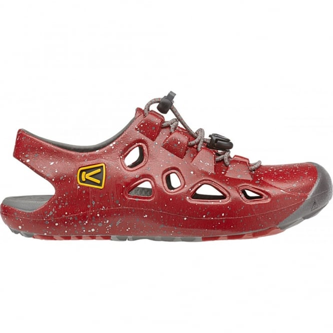 KEEN Kids Rio Racing Red/Gargoyle, comfortable and flexible fit