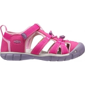 Kids Seacamp II Verry Berry/Lilac Chiffon, a low profile lightened version of the original sandal