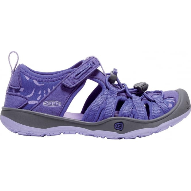KEEN Kids/Youth Moxie Sandal Liberty/Lavendar, soft and secure sandal