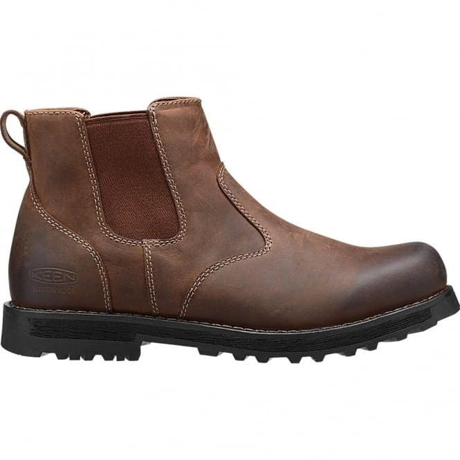 KEEN Mens 59 Chelsea Boot Peanut, Comfortable leather ankle boot