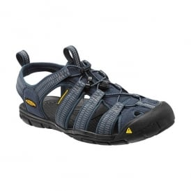 Mens Clearwater CNX Midnight Navy/Gargoyle, a low profile lightened version of the orignal sandal