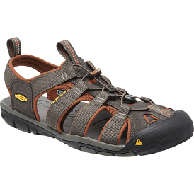 Mens Clearwater CNX Raven/Tortoise Shell, a low profile lightened version of the orignal sandal