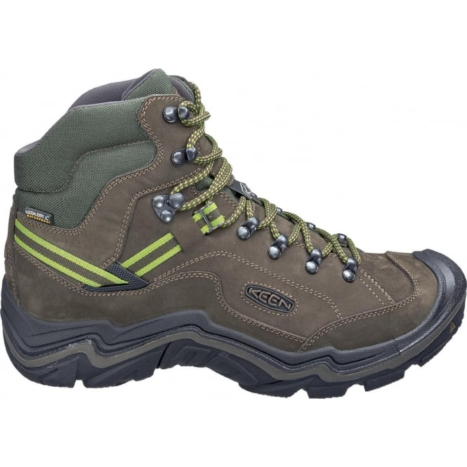 KEEN Mens Galleo MID WP Black/Greenery