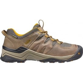 Keen Mens Gypsum II WP Shitake/Golden Yellow, waterproof all round hiker