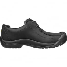 Mens Portsmouth II Black, smart leather shoe