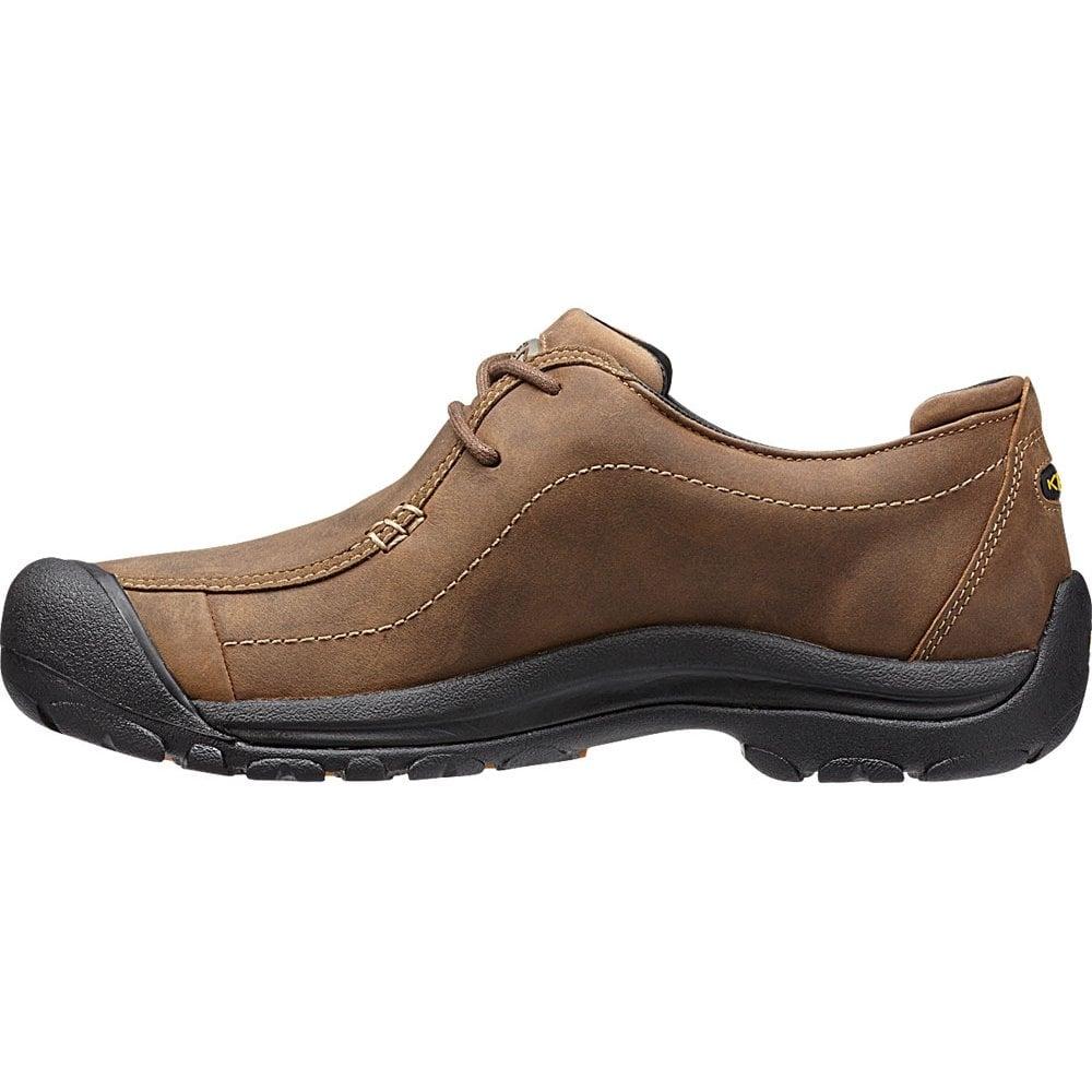 Mens Portsmouth II Dark Earth smart leather shoe
