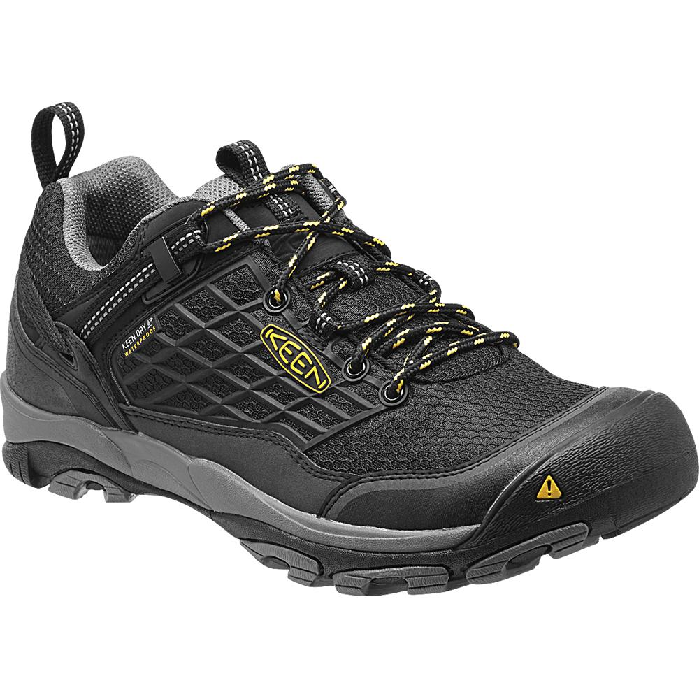 Mens Saltzman Low WP Black/Yellow, the perfect light weight waterproof  hiking shoe