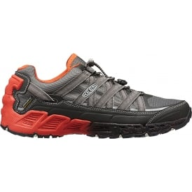 Mens Versatrail WP Raven/Burnt Ochre, Waterproof lightweight flexible support