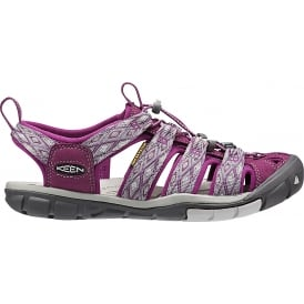 Womens Clearwater CNX Dark Purple/Purple Sage, a low profile lightened version of the orignal sandal