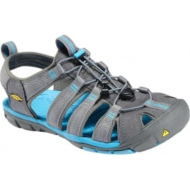 Womens Clearwater CNX Gargoyle/Norse Blue, a low profile lightened version of the orignal sandal