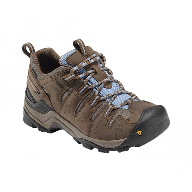 KEEN Womens Gypsum Shitake/Eventide, lightweight hiker ideal for comfort and stability