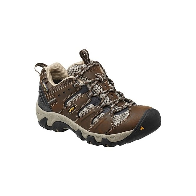 KEEN Womens Koven WP Cascase/Aluminum, a versatile women's hiking trail shoe that delivers comfort, dependability and style