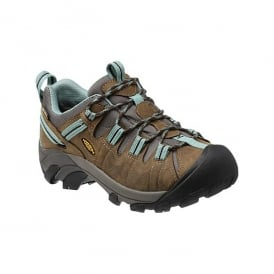 Womens Targhee ll Black Olive/Mineral Blue, hiking shoe thats is ready for your off-road challenges