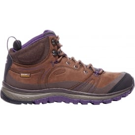 Womens Terradora Leather MID WP Scotch/Mulch