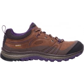 Womens Terradora Leather WP Scotch/Mulch