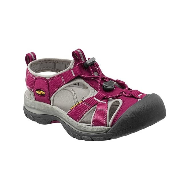 KEEN Womens Venice H2 Beet Red/Neutral Grey, wear these in and out of the water for all day comfort