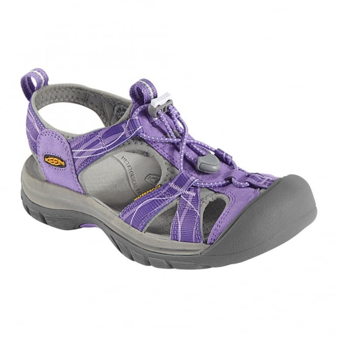KEEN Womens Venice H2 Bougainvillea/Neutral Gray, wear these in and out of the water for all day comfort