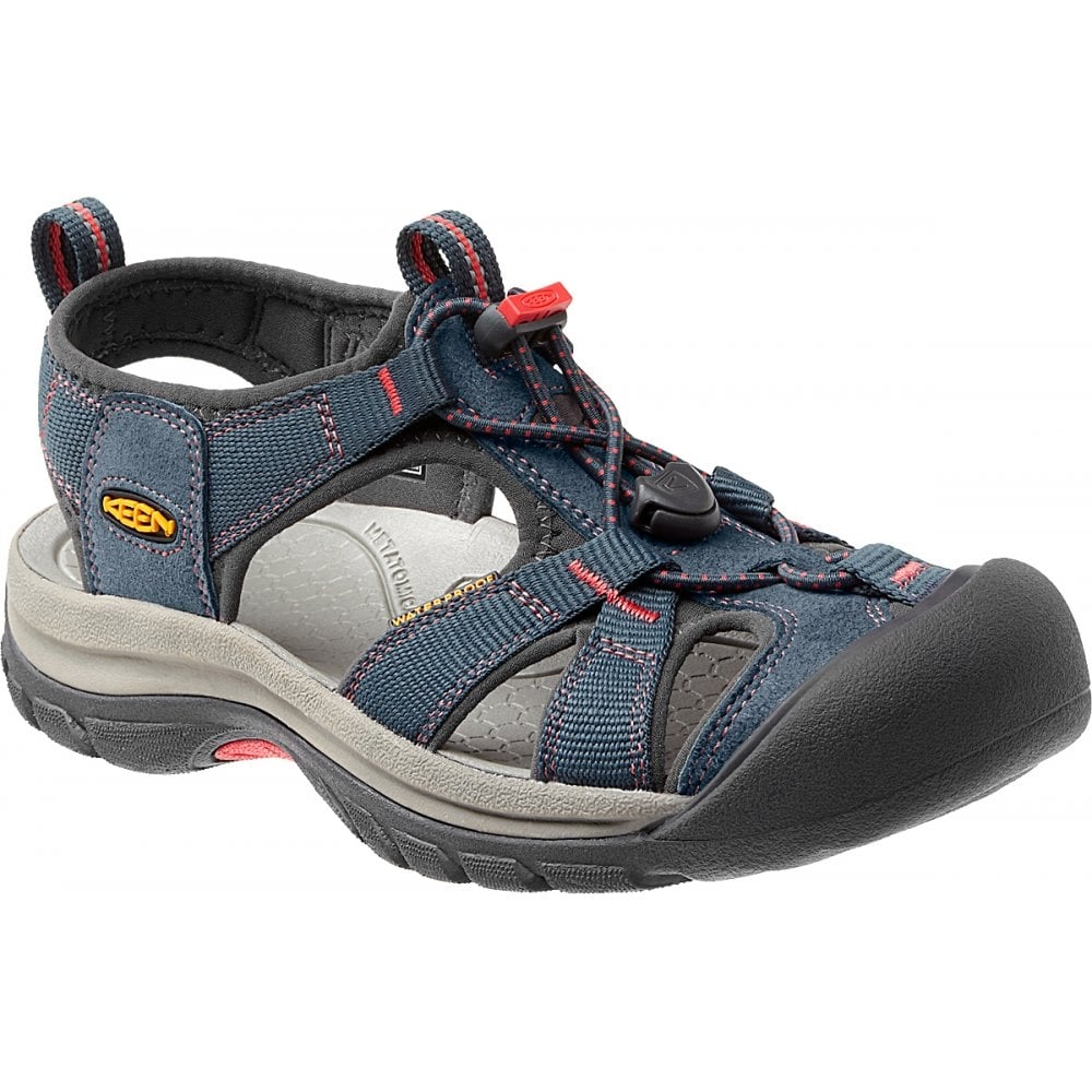 e20c2a6e2e Womens Venice H2 Midnight Navy/Hot Coral, wear these in and out of the  water for all day comfort - Women from Jellyegg UK