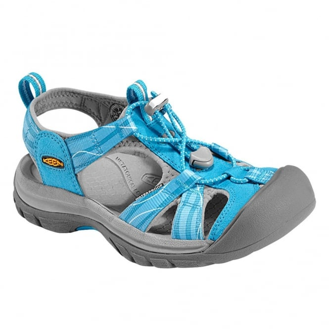 KEEN Womens Venice H2 Vivid Blue/Neutral Gray, wear these in and out of the water for all day comfort