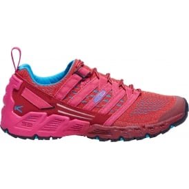 Womens Versago Red Dahlia/Deep Coral, Lightweight Breathable Mesh Upper