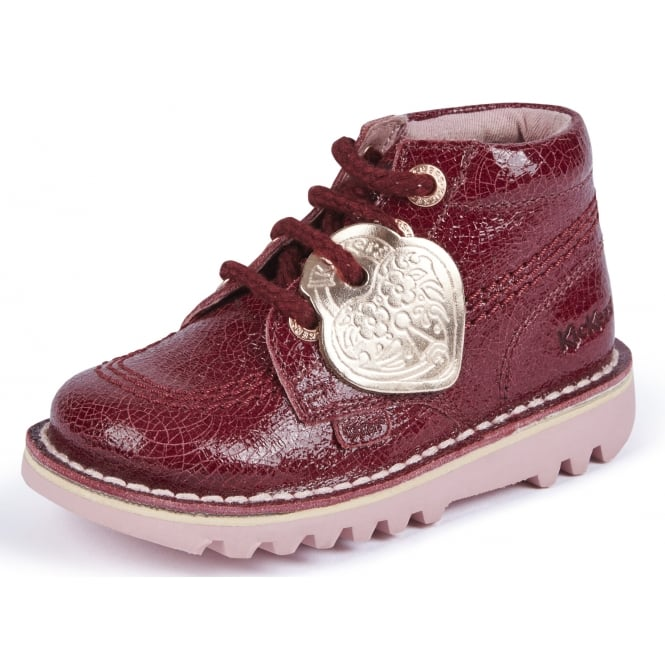 Kickers Kick HI Burgandy Junior